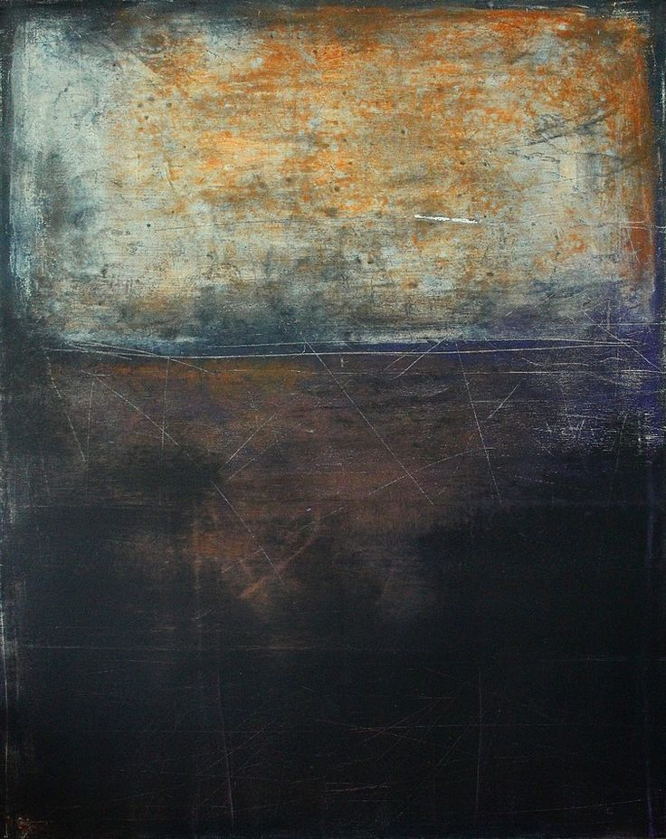 Abstract painting by contemporary German artist Christian Hetzel.