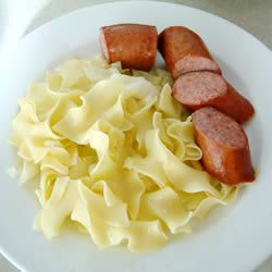 Polish Cabbage Noodles Recipe – Allrecipes.com  **Add sour cream at end and cook…