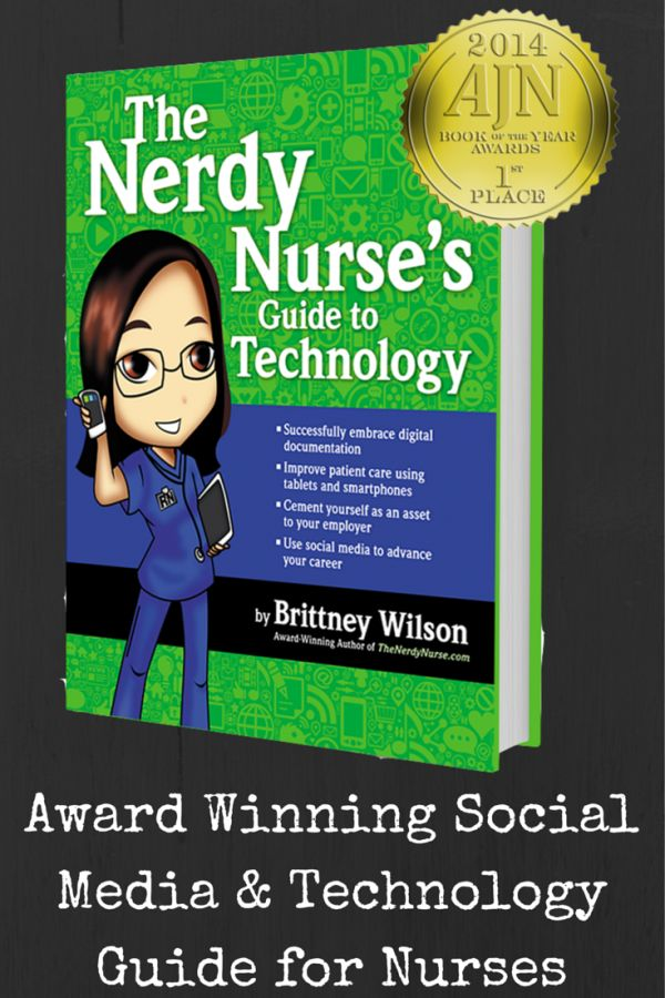 The Nerdy Nurse's Guide to Technology gives nurses the tools they need to be successful with social media and technology.