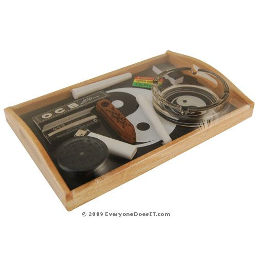 Nice Set For Beginners Or Gifting Great Rolling Trays