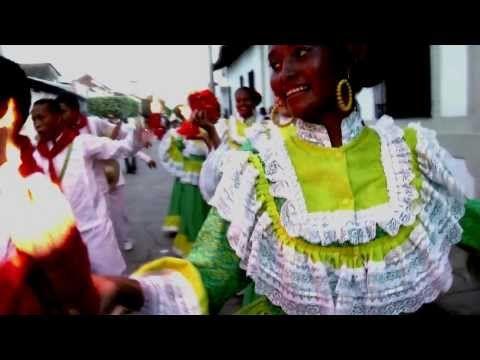 Historia de la Cumbia en Colombia - India y Negra - YouTube