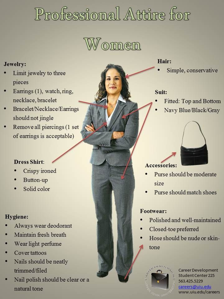 Interview clothing for women
