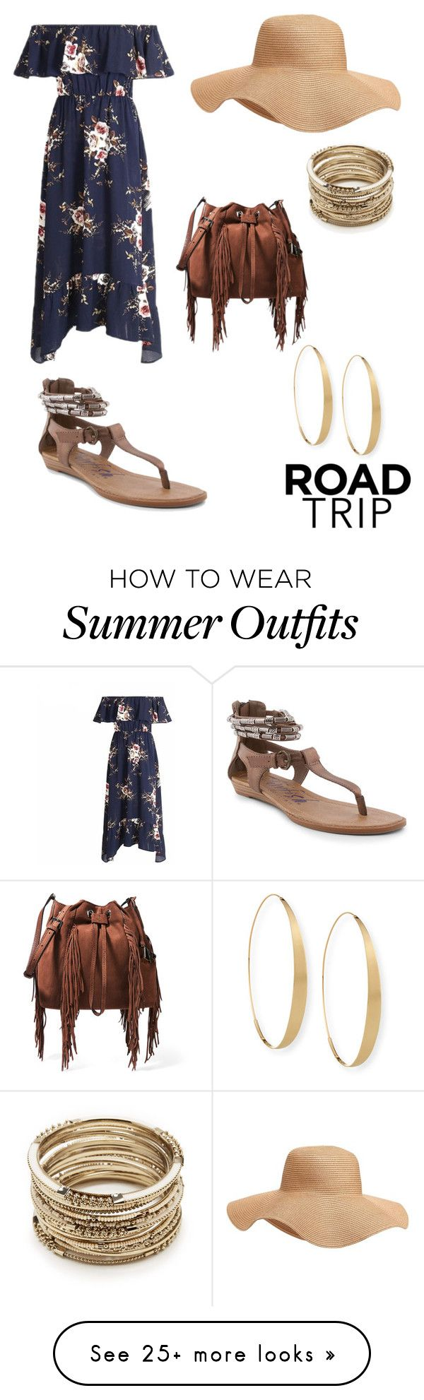 """""""RoadTrip Outfit"""" by jmacbeth129 on Polyvore featuring Diane Von Furstenberg, Blowfish, Old Navy, Sole Society and Lana"""