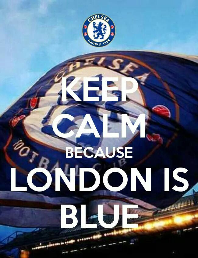 London is blue!!!