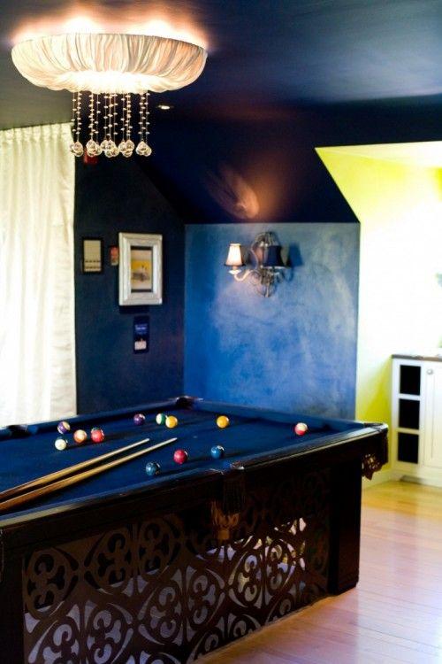 10 billard raum dekoration ideen   spielzimmer für erwachsene ...