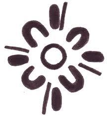 Aboriginal symbol for family. SUPER cute!