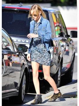 ケイト・ボスワースは「クロエ」のブーツが大のお気に入り!