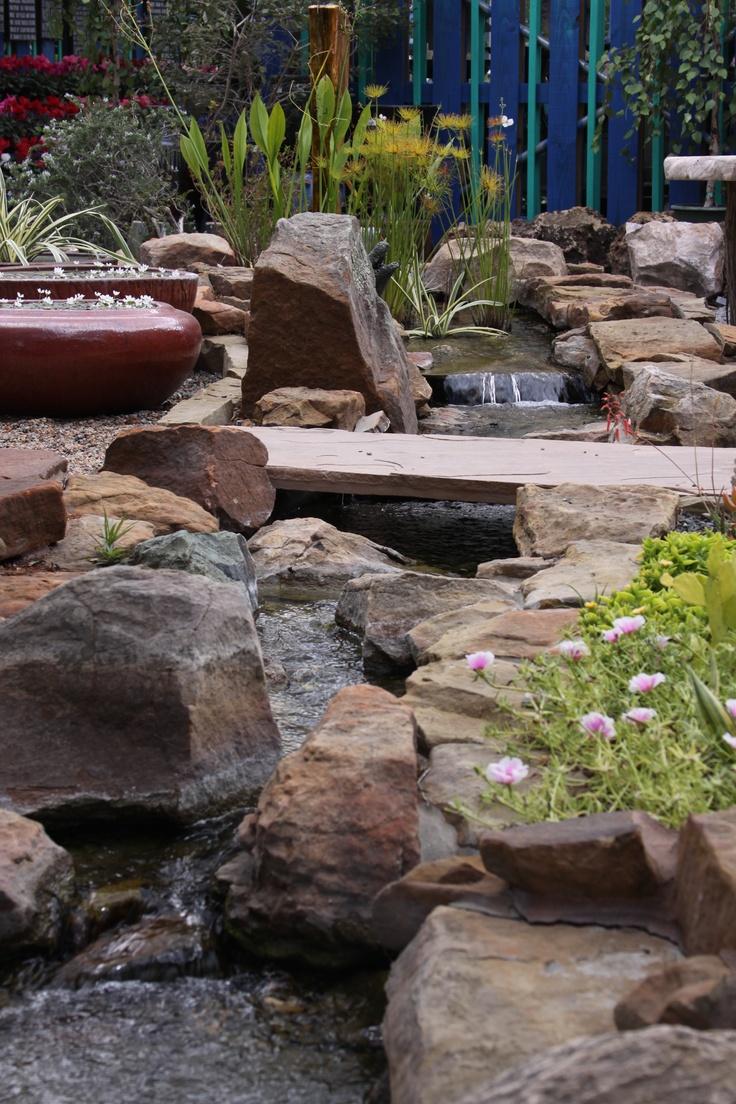 Disappearing Streams Water GardensGarden IdeasPatioYard
