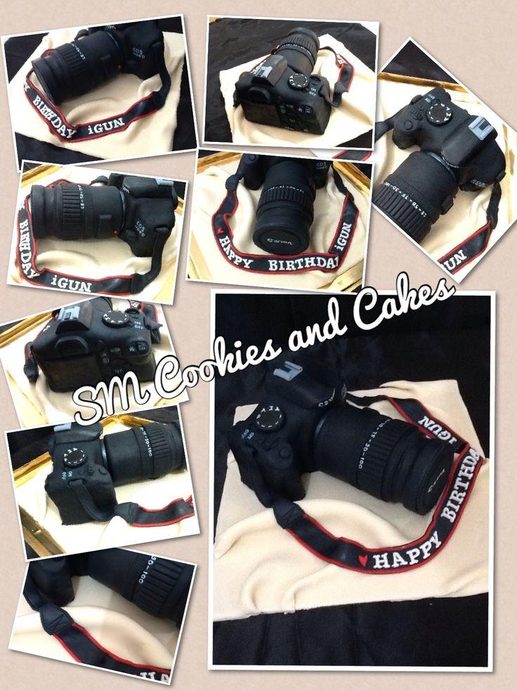 Nikon Camera Cake Step By Step