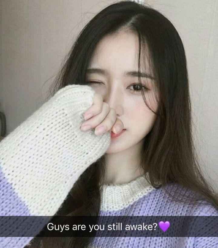 Snapchat korean girls AddMeSnaps