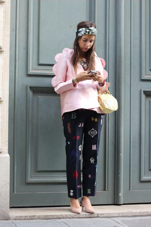 #NatashaGoldenberg in Paris.