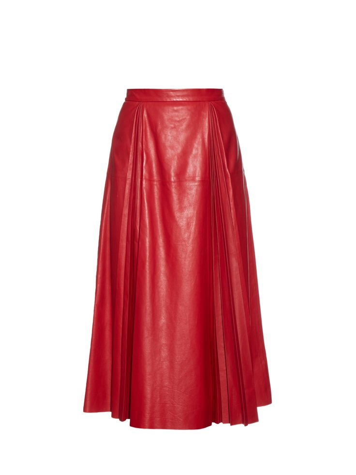 17 best ideas about leather midi skirt on