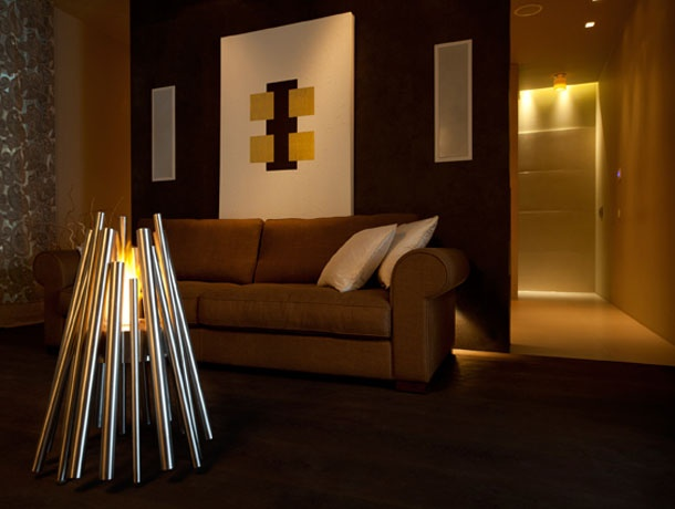 "ethanol fireplaces ""Modern design referring to the nature"" ... lovter.com"