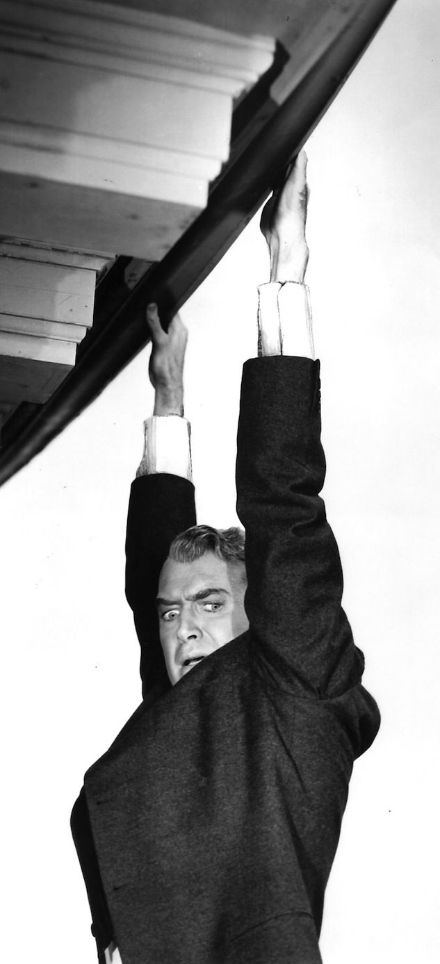James Stewart - Vertigo (Hitchcock, 1958) is an awesome suspense movie! It will keep you on the end of your chair. 5*