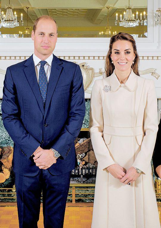 "duchesscambridges: "" ""The Duke and Duchess of Cambridge - Canada 2016."" """
