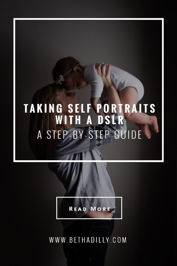 A Step-By-Step Guide For Taking Self Portraits With A DSLR | Bethadilly Photography