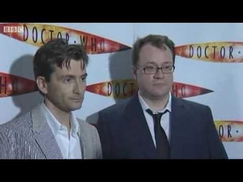 David Tennant & Russell T Davies on BBCNews
