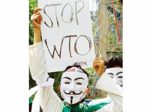 WTO Protest