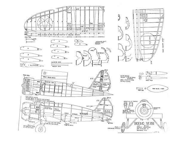 17 best images about balsa wood model airplane plans on