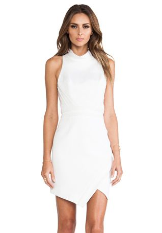 camilla and marc Parity Bit Dress in White