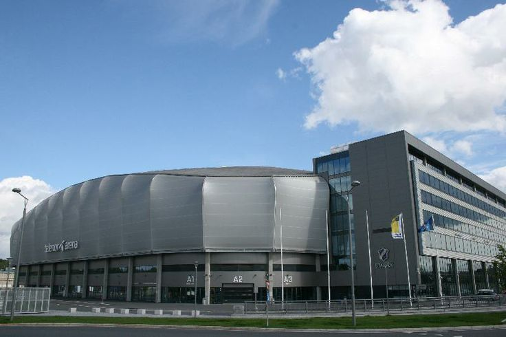 Telenor Arena (Sport venue) in Oslo (Norway). Architect: HRTB  Serge Ferrari composite membrane: Stamisol FT