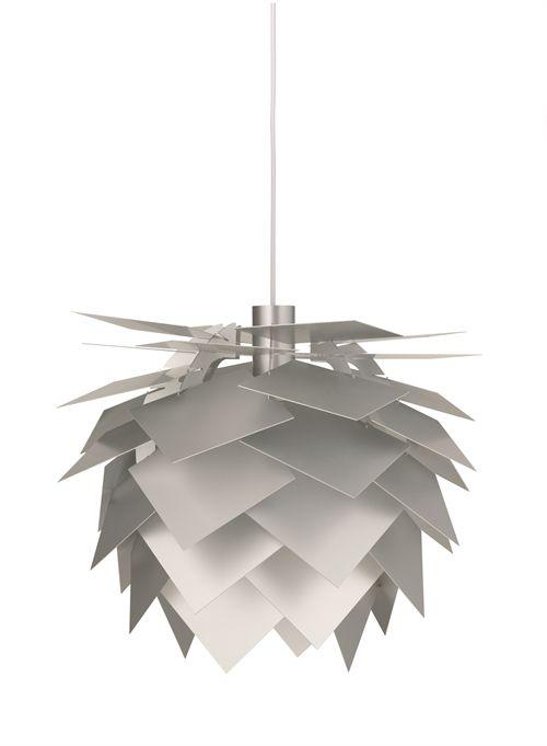 PineApple Pendel Medium Aluminium