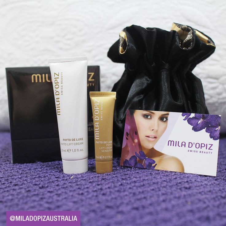 Mila d'Opiz Australia - golden point of beauty. Fight the signs of skin aging with our Phyto de Luxe Range! Luxurious skin care with the most precious ingredients the plant world has to offer. Proven to smoothen wrinkles & combat skin-aging.
