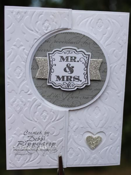 Flipped Wedding Invite by Motherof6 - Cards and Paper Crafts at Splitcoaststampers
