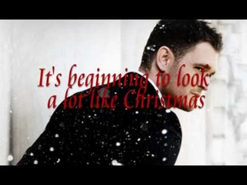 It's Beginning To Look A Lot Like Christmas - Michael Bublé (Lyrics)