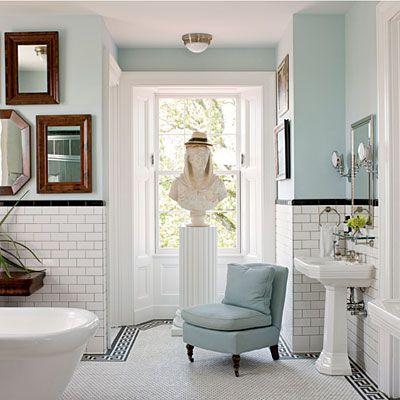 top 25+ best blue white bathrooms ideas on pinterest   blue