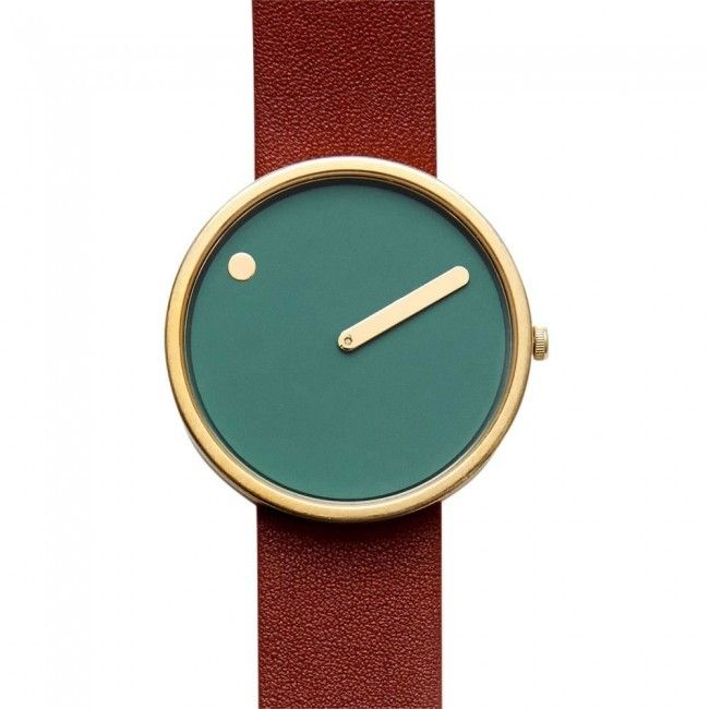 Rosendahl+Watch+-+PICTO+Leather+(twistedtime.com)