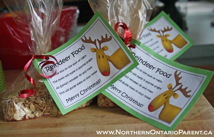 Reindeer Food  Here's how to make it: http://www.northernontarioparent.ca/#!craft--reindeer-food/c1e3i