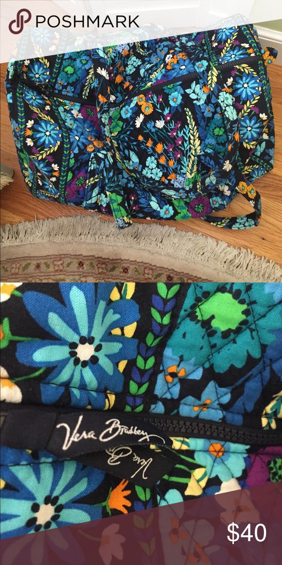 Large Vera Bradley Large Duffel Bag Excellent condition Vera Bradley duffel bag. From smoke free home. Vera Bradley Bags Travel Bags