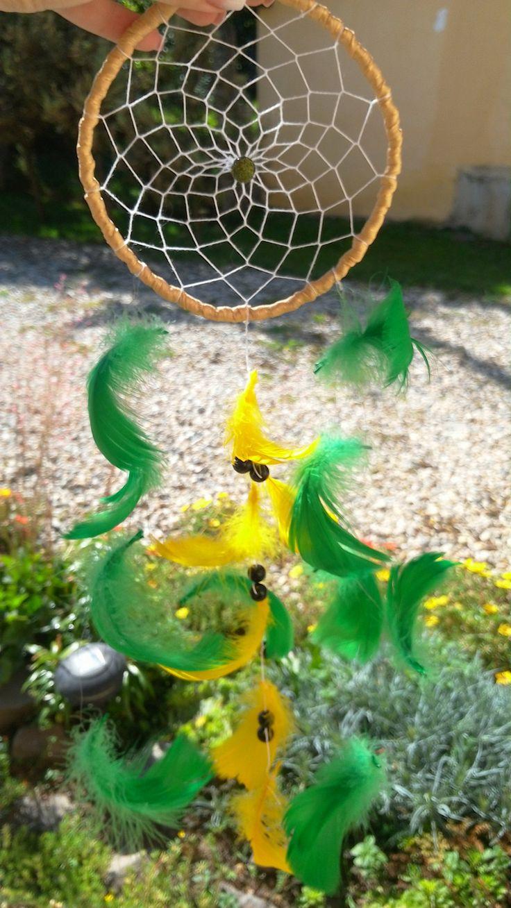 dream catcher, green dream catcher,outdoor,decoration,