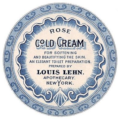 Antique Labels - Apothecary - Beauty Cream - The Graphics Fairy