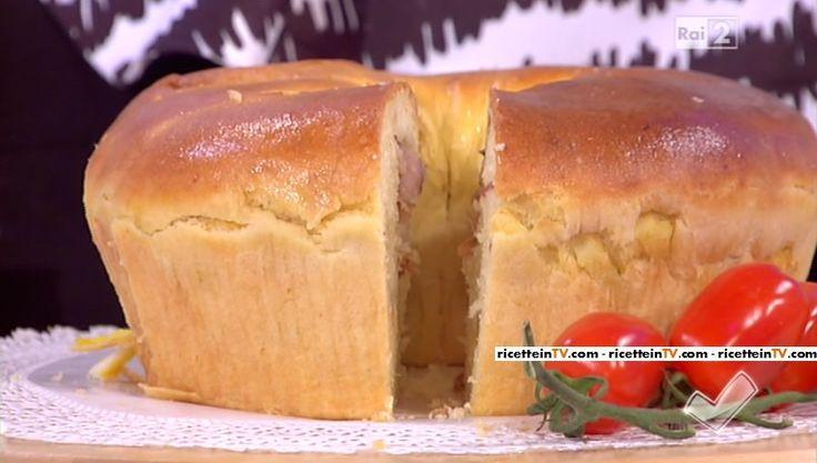 """""""Detto Fatto"""": la ricetta del tortano di Gianfranco Iervolino del 7 marzo 2016."""