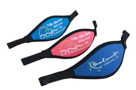 Customized mask strapes