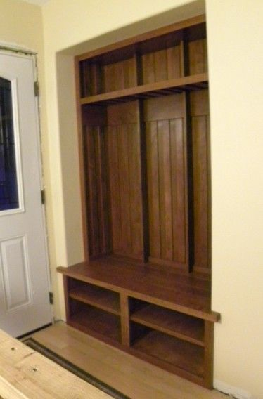 if next house has entry way closet (we could totally do this)