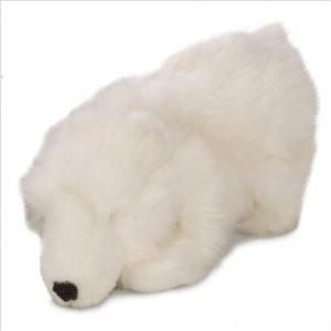 Big Polar Bear Chew Guard Dog Toy