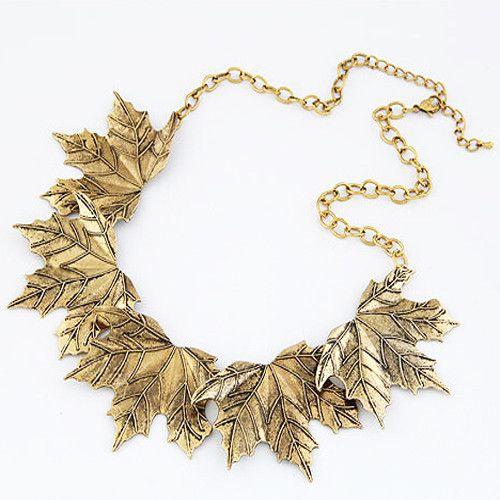 Hello Autumn Necklace