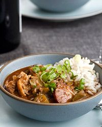 Chicken-and-Okra Gumbo Recipe on Food & Wine