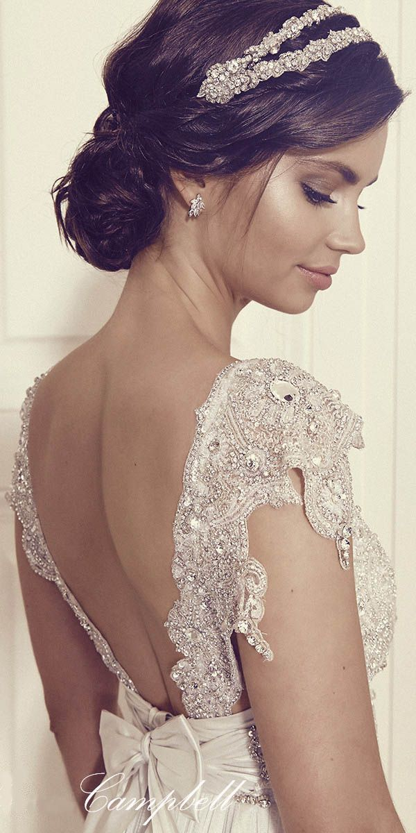 Anna Campbell Gossamer 2016 Bridal Collection ❤ See more: http://www.weddingforward.com/anna-campbell-gossamer-bridal-collection/ #weddings #dress