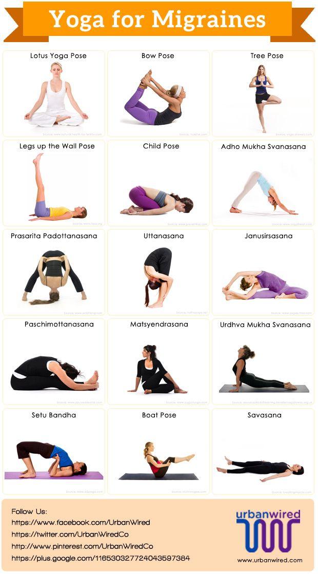 #yoga is helpful for #migraine headaches