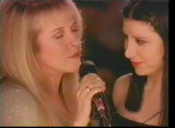 Stevie and Sharon perform Edge of 17 on VH1's Storytellers 1998