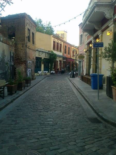 A walk in Ladadika, Thessaloniki :)