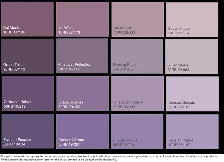 Craft studio paint palettes - shades of purple/plum