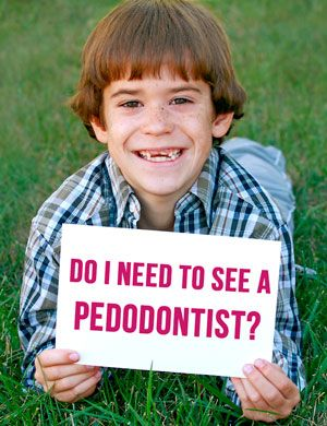 Does my child need to see a pedodontist?  #children #dentist #pedodontist #pediatrician #teeth #cleaning #dental #kids #generaldentist