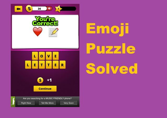 """Why Is Everyone Playing """"Guess the Emoji""""?: Emoji Puzzle Solved"""