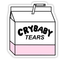 CRYBABY TEARS  Sticker