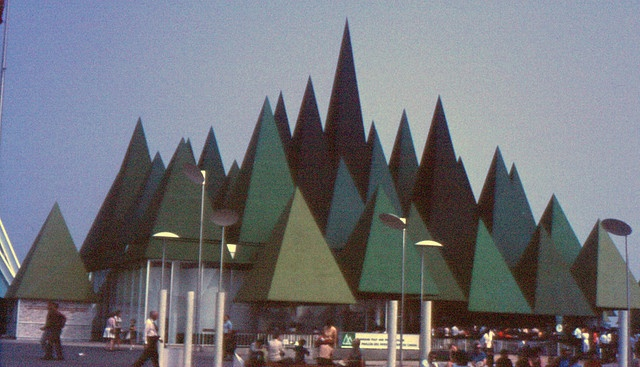 The Canadian Pulp & Paper Industry Pavilion. Expo 67, Montreal